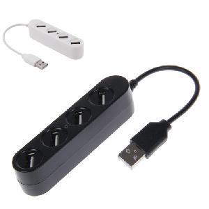 USB Hub 4 Port High Speed USB 2.0 USB HUB Mini P-1020