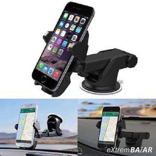 Univerzális autós telefon tartó tapadókorongos kihúzható karral