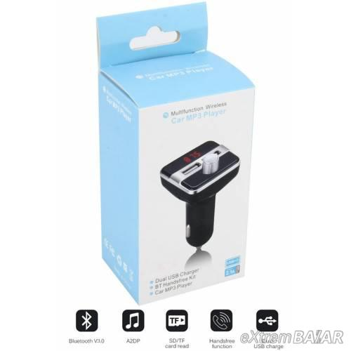 X9 Bluetooth autós FM Transmitter MP3 lejátszó
