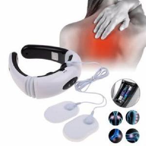 Vezeték nélküli nyakmasszírozó és izomstimulációs készülék