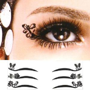Divatos szemhéj matricák