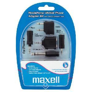 Maxell utazó adapter füllhalgató, fejhalgatókhoz(headphone adapter kit)