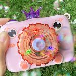 Fényképezőgép formájú, automata buborékfújó pisztoly