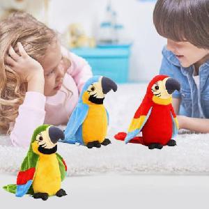 Beszélő papagáj (beszél és visszabeszél) vicces és aranyos