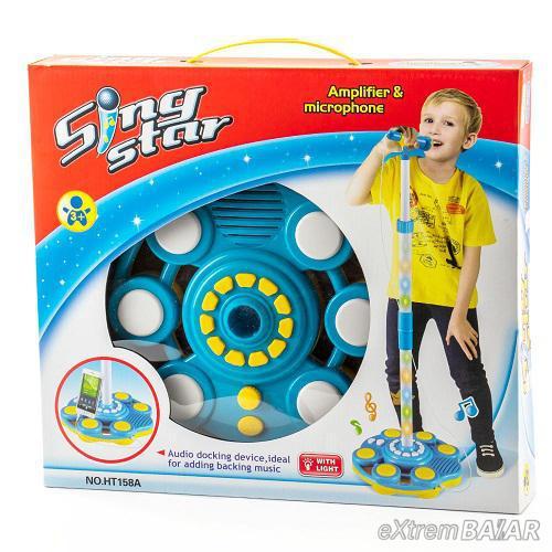 SING STAR LED mp3 játék mikrofon