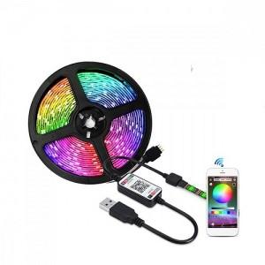 Okos Bluetooth LED szalag mobiltelefonos távirányítással - 5 méter
