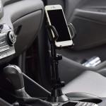 Autós pohártartóba tehető telefontartó