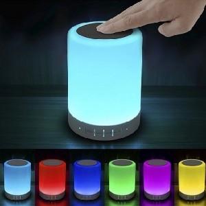 Bluetooth hangszóró Rgb érintős led lámpával - Cl-671