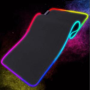 Csúszásmentes Gamer egérpad - 80x30 cm / RGB LED színekkel