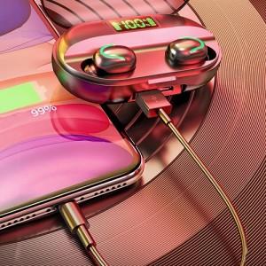 Gaming TWS Bluetooth headset - tokba épített töltővel KD-C1