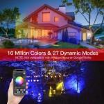 Smart LED reflektor - RGB + hideg fehér + meleg fehér, okos telefonnal vezérelhető -100 W