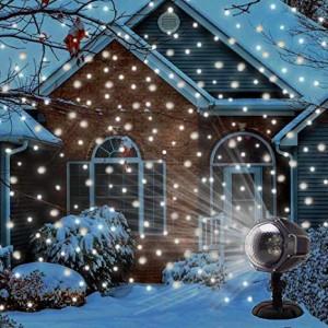 Snowball Projector - Hóesés projektor - kül- és beltéren is használható dekorvilágítás
