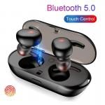 Universal TWS4 Bluetooth fülhallgató, vezeték nélküli, érintésvezérlés, dokkolóval