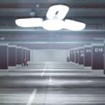 U-Shaped Lamp - 50W négyágú LED lámpa - 6500K -  E27 foglalattal