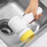 Magic Brush elektromos tisztító kefe - vezeték nélküli - 3 tisztítási móddal